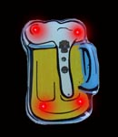Flashing Beer Mug Blinky