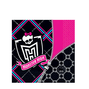 Monster High Luncheon Napkins- 16ct
