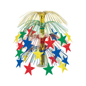 Star Cascade Centerpiece - 18 inches