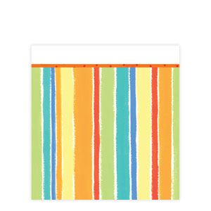 Sunshine Stripes Plastic Tablecover