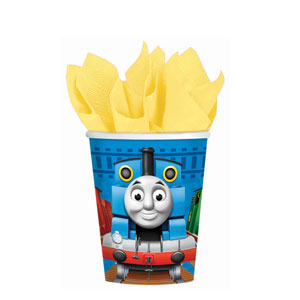 Thomas and Friends 9 oz. Cups- 8ct