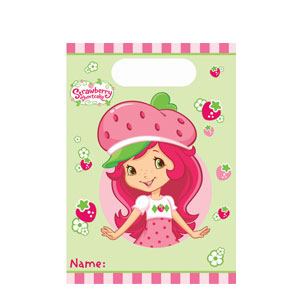 Strawberry Shortcake Loot Bags- 8ct