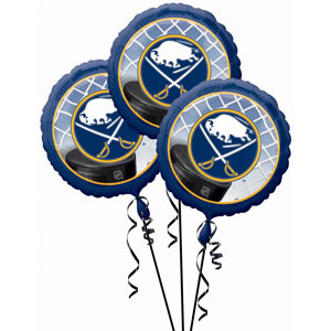 Buffalo Sabres 3 Pack Balloons- 18in