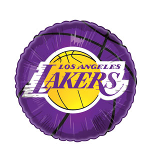 Los Angeles Lakers Balloon- 18in