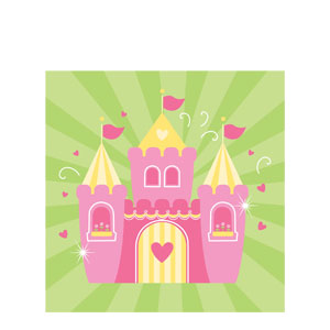 Fairytale Princess Luncheon Napkins- 16ct