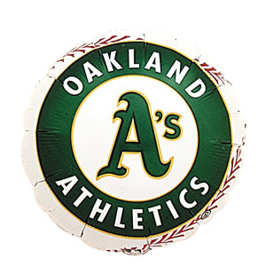 Oakland Athletics Balloon- 18in