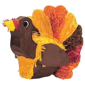 Turkey Pinata- 13 Inch