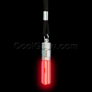 LED Pendant Necklace - Red