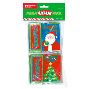 Christmas Coloring Kits- 12ct