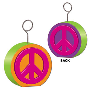 Peace Sign Balloon Weight - 6oz