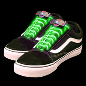 LED Shoe Laces - Green