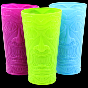 Tiki Cups - Assorted
