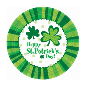 St. Pat's Cheer Luncheon Plate-7 inches