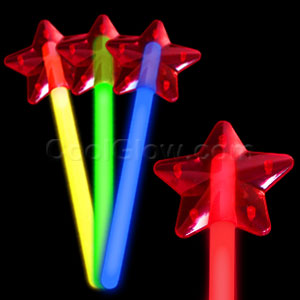 Glow Star Wand - Assorted