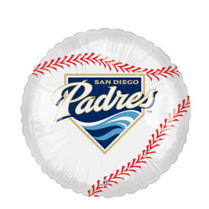 San Diego Padres Balloon- 18in