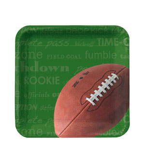 NFL 7 Inch Plates