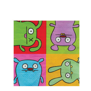 Ugly Doll Luncheon Napkins- 16ct