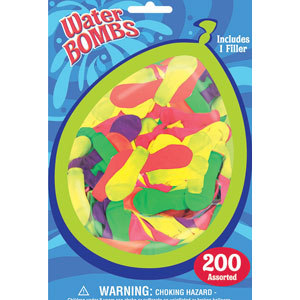 Water Bombs with Filler- 201ct