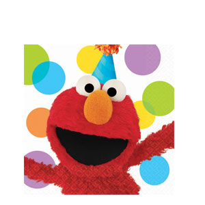 Elmo Party Luncheon Napkins- 16ct