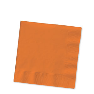 Sunkissed Orange Luncheon Napkins - 16ct