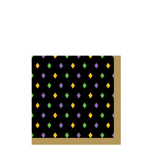 Mardi Gras Magic Beverage Napkins