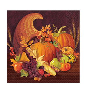 Harvest Dinner Napkins- 16ct