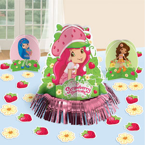 Strawberry Shortcake Table Decorating Kit- 23pc