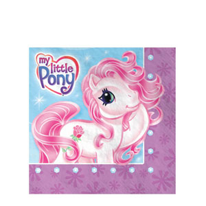 My Little Pony Luncheon Napkins- 16ct