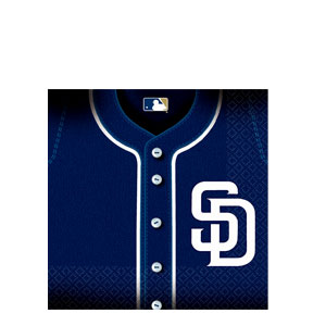San Diego Padres Luncheon Napkins- 36ct