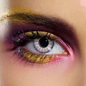 Novelty Contact Lenses - Glamour Grey