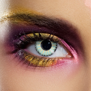 Novelty Contact Lenses - Glamour Green