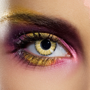 Novelty Contact Lenses - Glamour Honey
