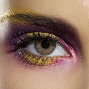 Novelty Contact Lenses - Hazel 2 Tone