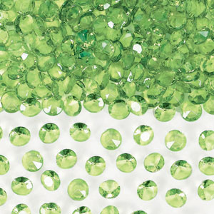 Honeydew Confetti Gems- 1oz