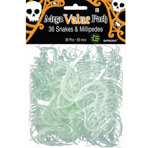 Glow-in-the-Dark Snake Value Pack- 36ct