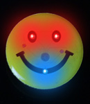Flashing Smiley Face - Pin