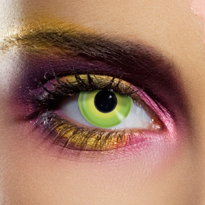 Novelty Contact Lenses - Hulk