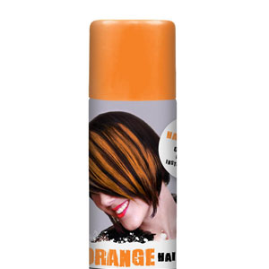 Color Hair Spray- Orange