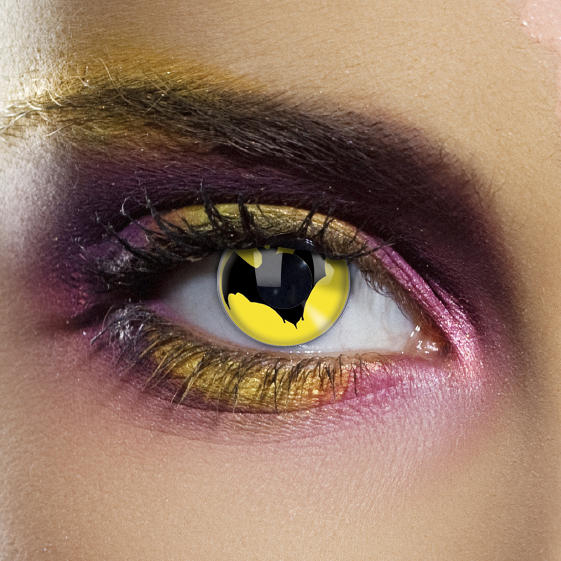 Crazy Halloween Contact Lenses - Bat