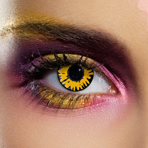 Novelty Contact Lenses - New Moon