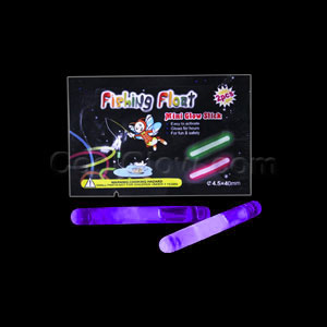 1.5 Inch Retail Packaged Glow Sticks - Purple