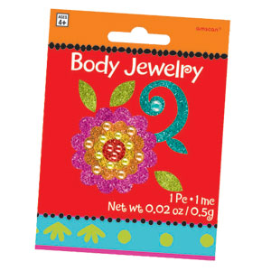 Fiesta Body Jewelry- 2in