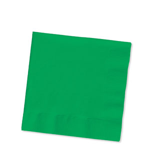 Emerald Green Luncheon Napkins - 16ct
