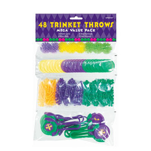 Trinket Throw Mega Value Pack - 48ct