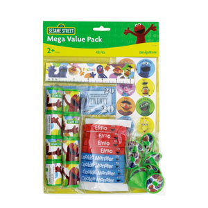 Sesame Street Favor Pack- 48pc