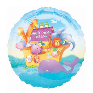 Two by Two Baby Balloon - 18 Inch