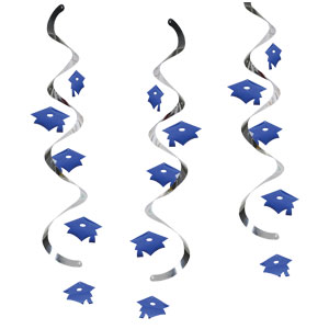 Graduation Dangler - Blue