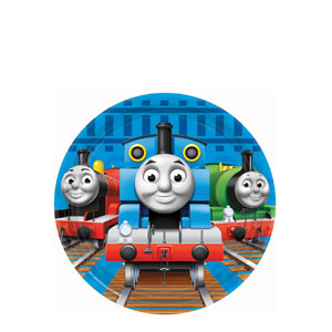 Thomas and Friends 7 Inch Plates- 8ct