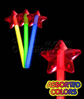 Glow Premium Star Wand - Assorted
