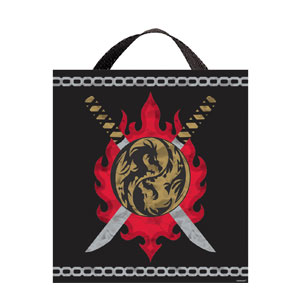 Ninja Fabric Treat Bag- 14in